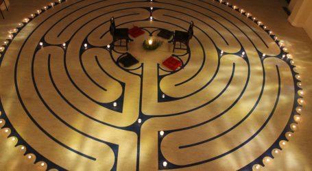 Labyrinth trend has parishioners on new path to prayer
