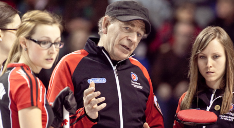 Legendary coach earns award as curlers he's trained land Olympic spots