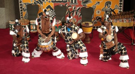 African dancers celebrate their culture at NAC