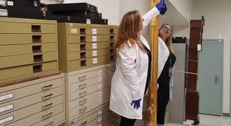 Gilded mirror captures NCC conservator's heart