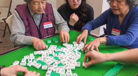 Local Chinese-Canadian community organize Mahjong event