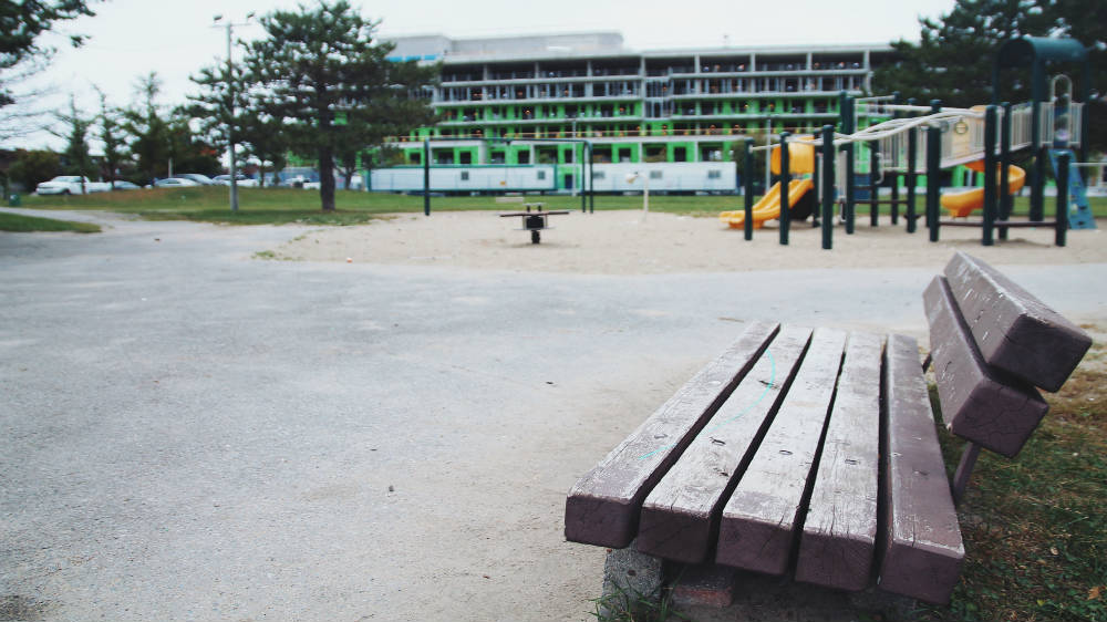 Vacant playgrounds