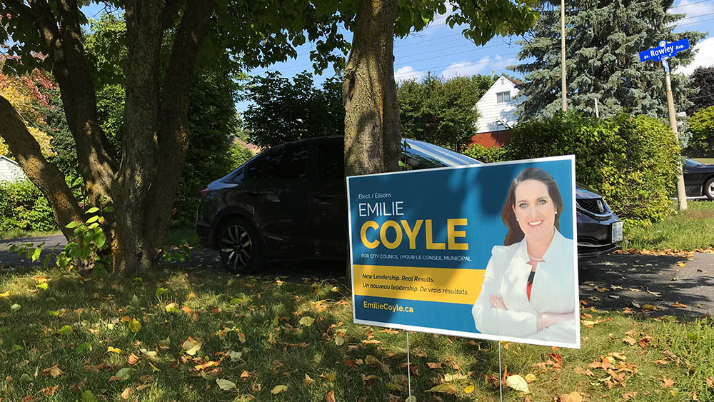 A day of door knocking with College Ward hopeful Emilie Coyle