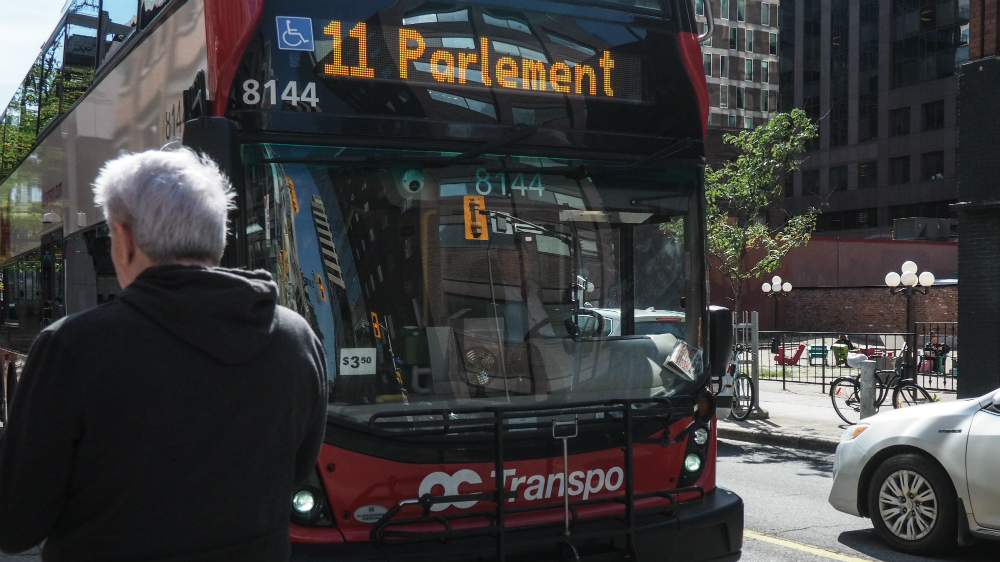 More OC Transpo route adjustments coming Monday