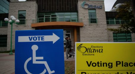 Thousands of voters cast early ballots in 2018 Ottawa election