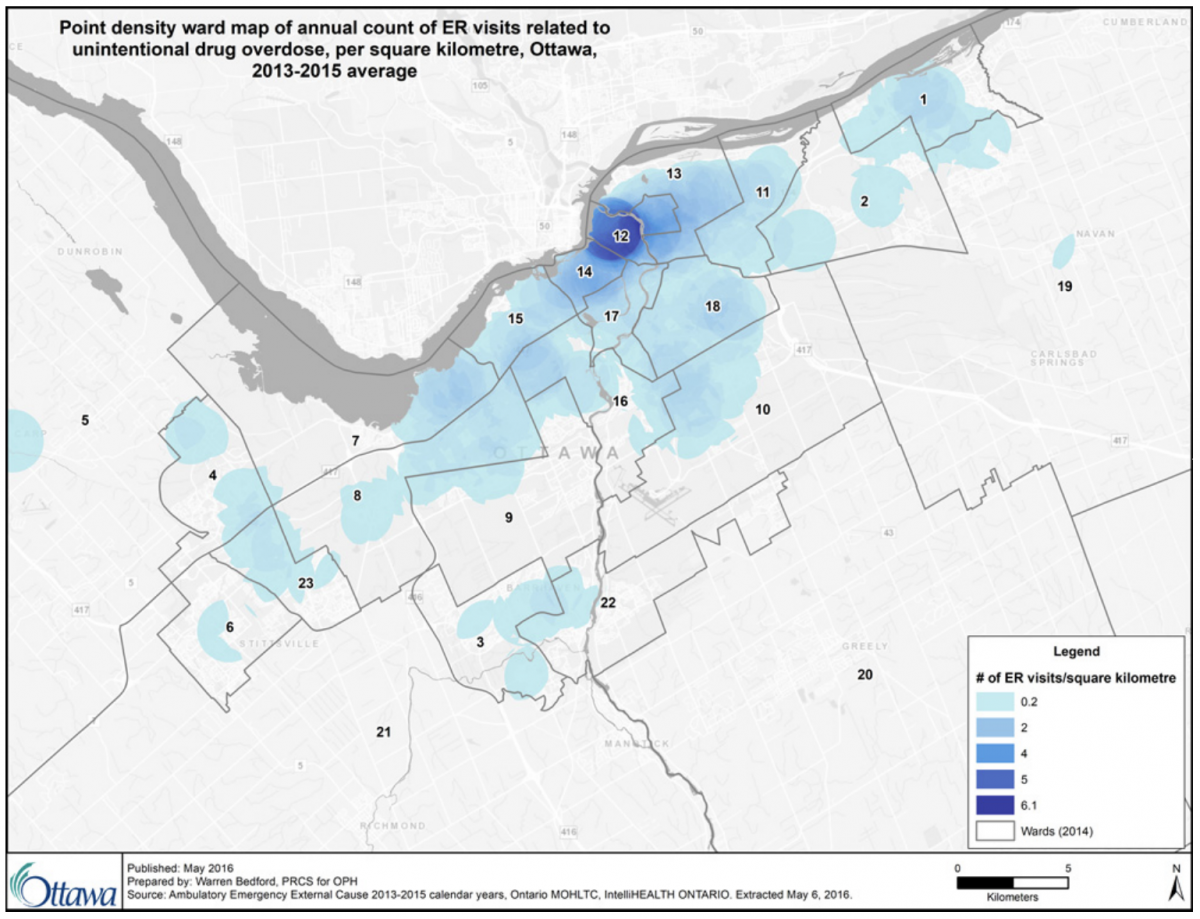 New report: Byward Market crime rates highest in Ottawa - Capital