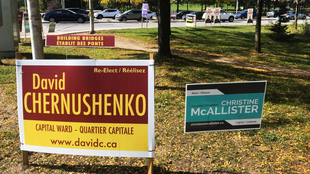Signs and the bottom line: The costs of election advertising in Ottawa