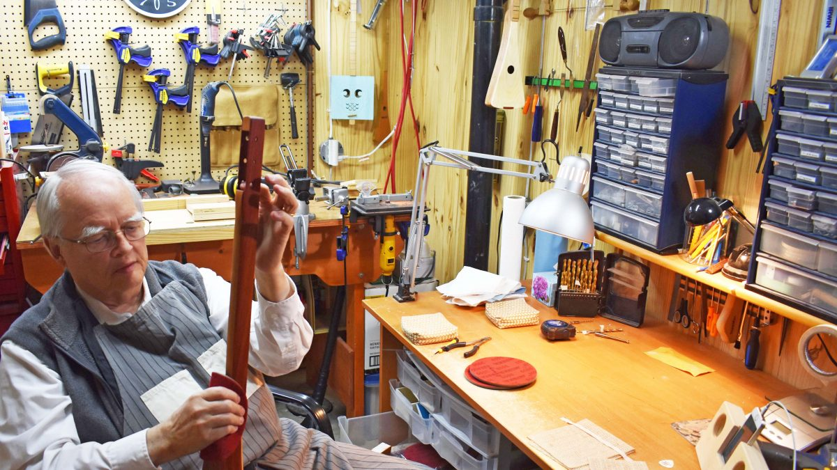 Strings attached: Making dulcimers a labour of love
