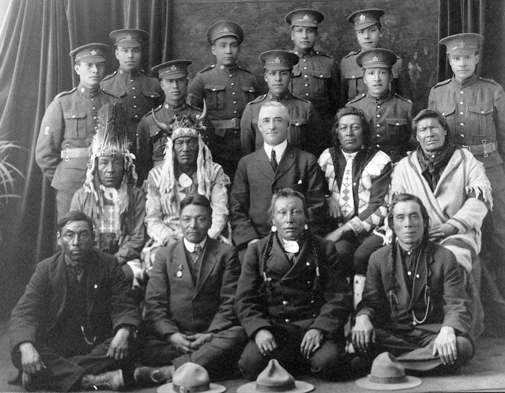Exhibition of photos at Canadian War Museum reveals diversity of soldiers in First World War