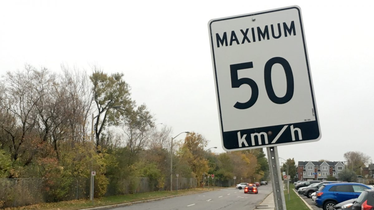 "The new speed limit signs will include an additional panel that says ""Area"". They will also reduce the limit from 50 to 40 km/h in older neighbourhoods."