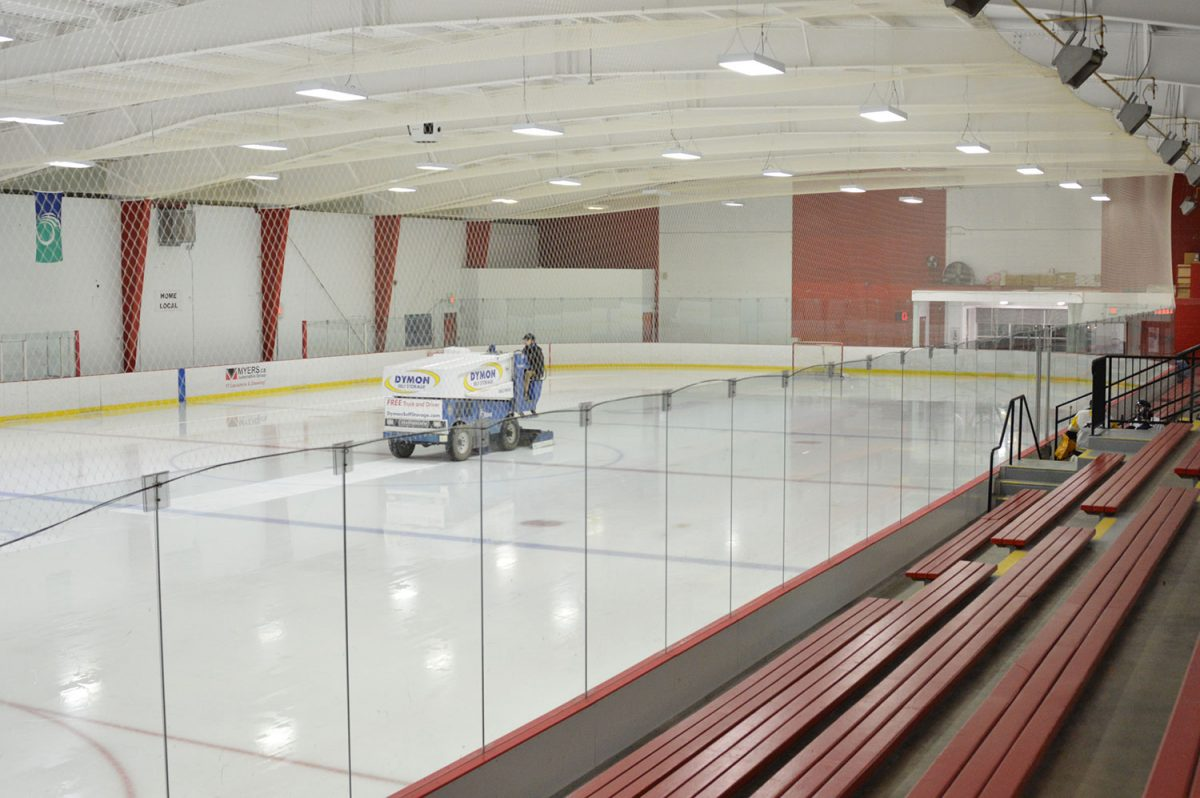 Life on the ice: Behind the scenes with a Zamboni driver