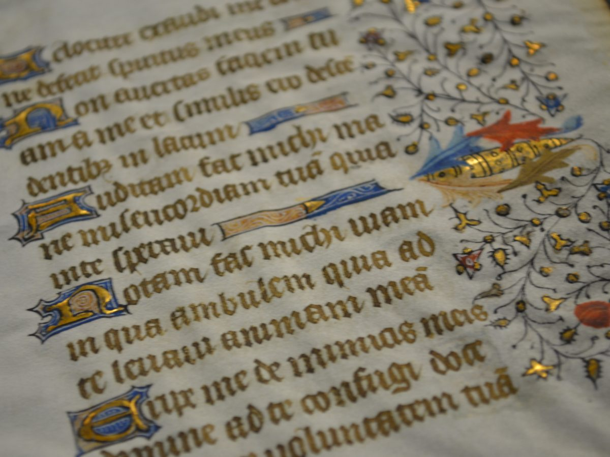 Carleton students using technology to bring centuries-old manuscripts into the digital age