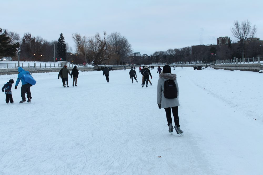 NCC starts study into impact of global warming on world's longest skating rink