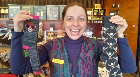 Ottawa woman raises awareness about autoimmune conditions one sock at a time
