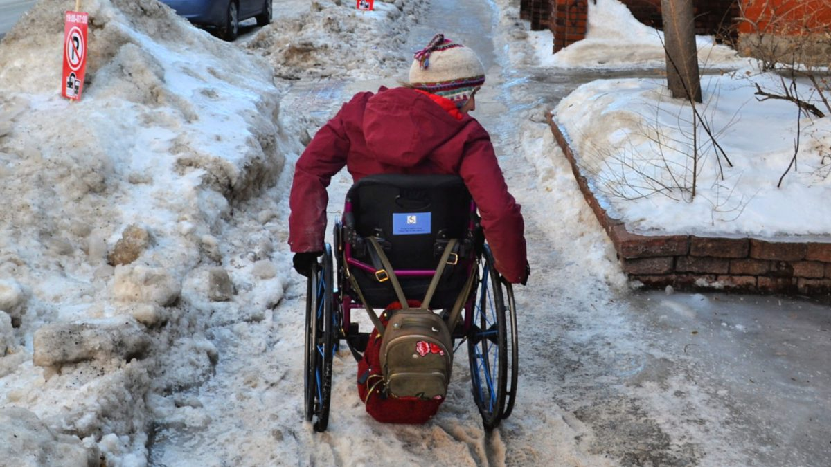 Winter conditions hinder accessibility in Ottawa