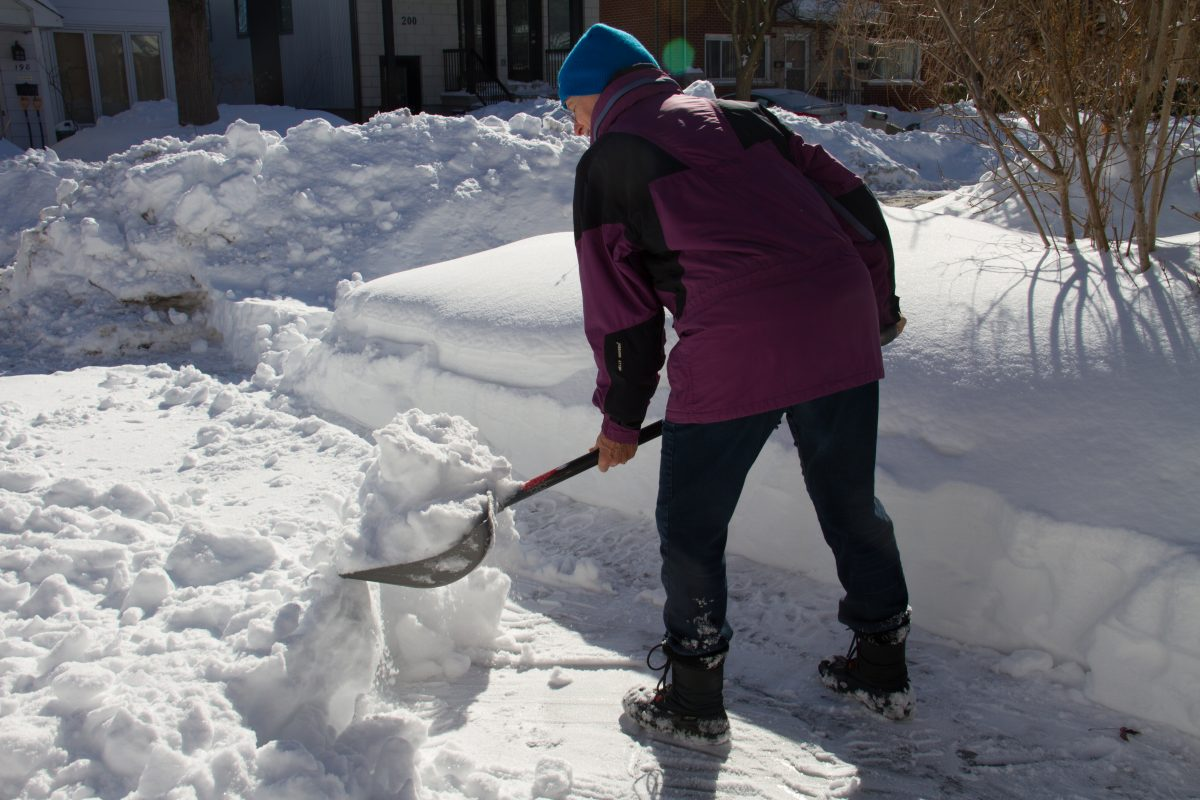 Ottawa councillor Jeff Leiper suffers a heart attack while shovelling snow