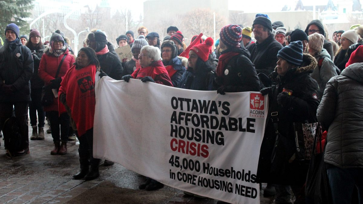 Affordable housing sees a $15 million surprise in Ottawa budget plan