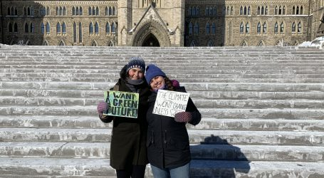 Fridays for their future: Ottawa sisters call for federal climate action