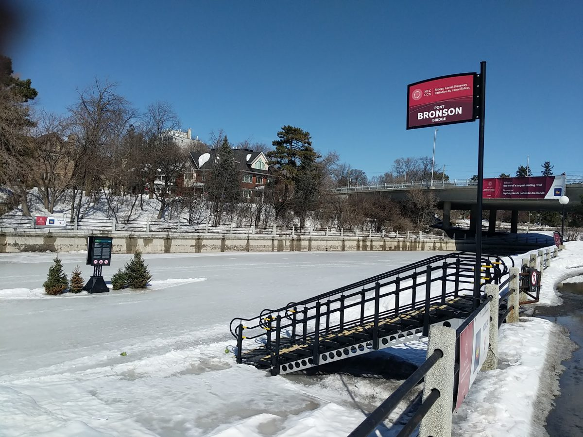 Ottawa skaters found the silver lining this winter giving Rideau Canal Skateway a record year