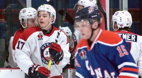 Ottawa Jr. Senators' Kyle Jackson shooting for NHL future