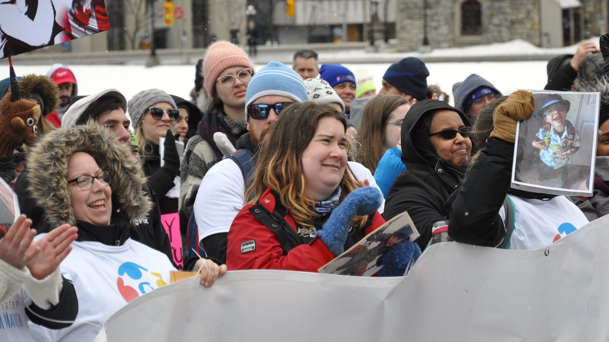 Ottawa march on Parliament reminded public of need for national autism strategy
