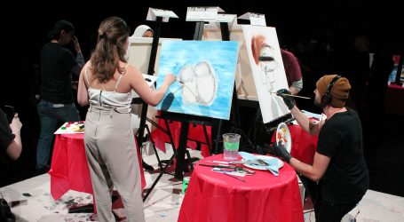 Art Battle brings out local artists and hidden talent