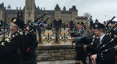 Ottawa was all decked out in plaid for Tartan Day