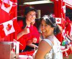 Celebrating Canada Daydowntown in photos