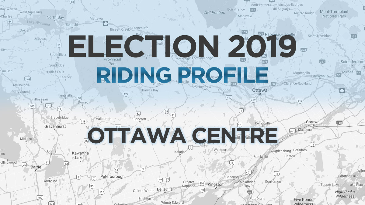Downtown Ottawa riding focal point for federal race