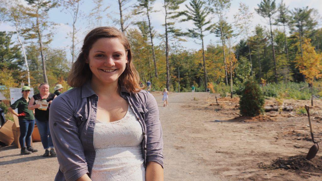 Rachel Balderson smiles wide
