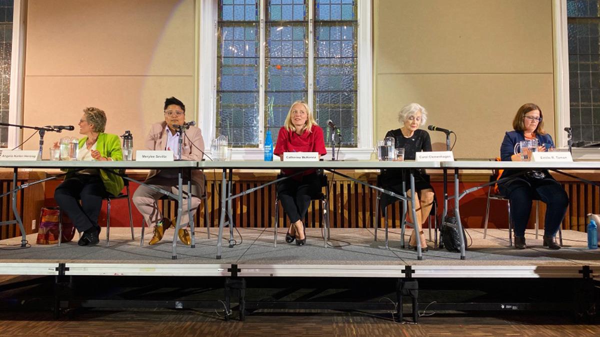 Five moments in the Ottawa Centre debate
