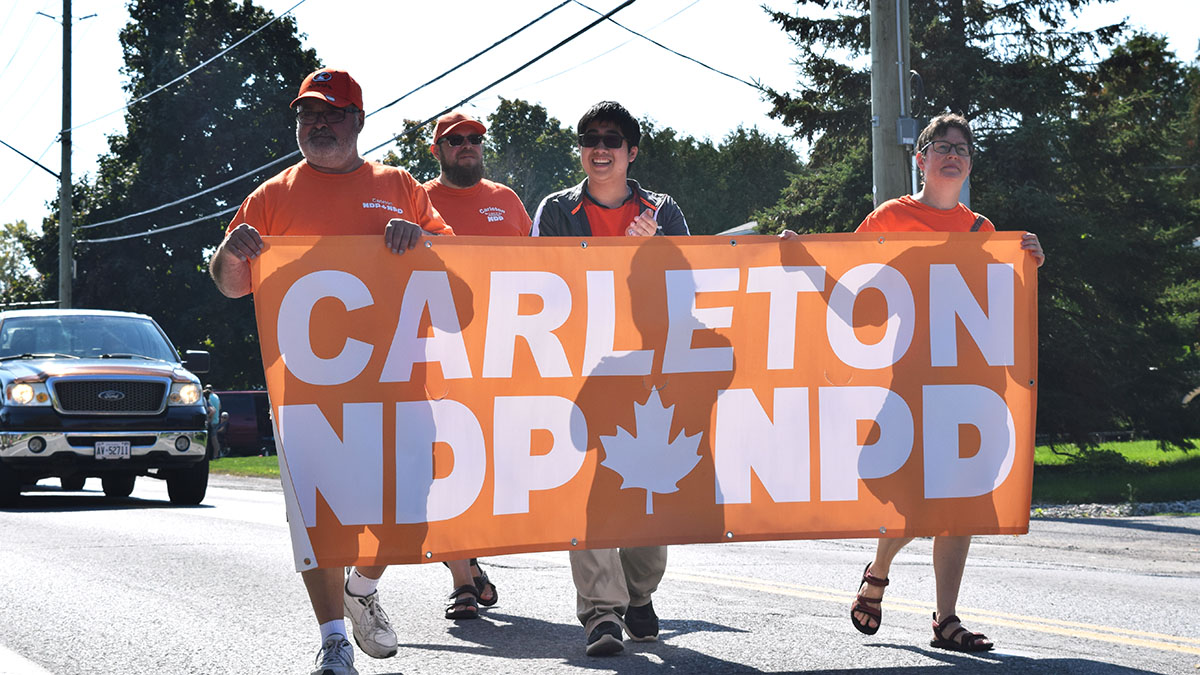 "'The voices of young people need to be heard,"" says 18 year old running in Carleton riding"