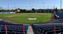 An empty Raymond Chabot Grant Thornton Park