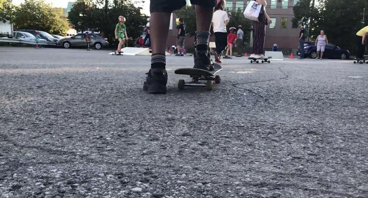 Rolling on: Future of skateboarding is building in a Vanier parking lot