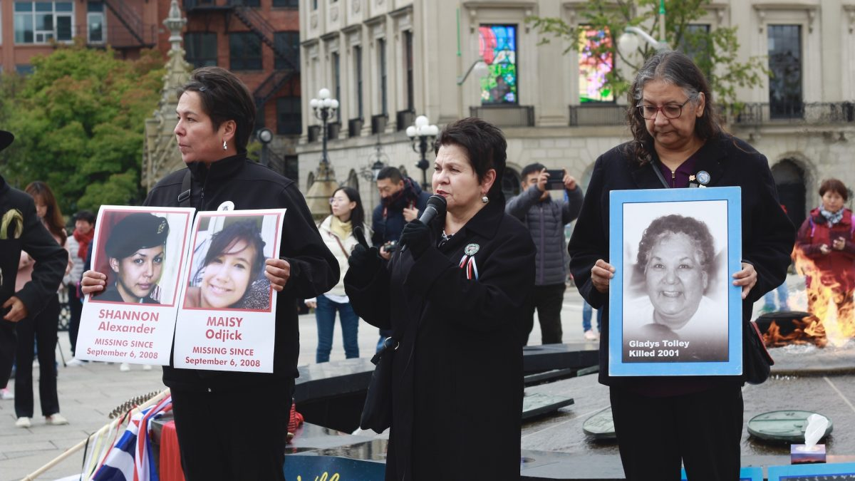 Ottawa's Indigenous community demands action on cases of missing, murdered women