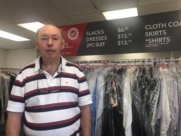 Pal McComick, a business owner on Elgin Street