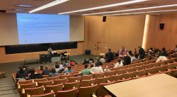 A lecture theatre at Carleton University