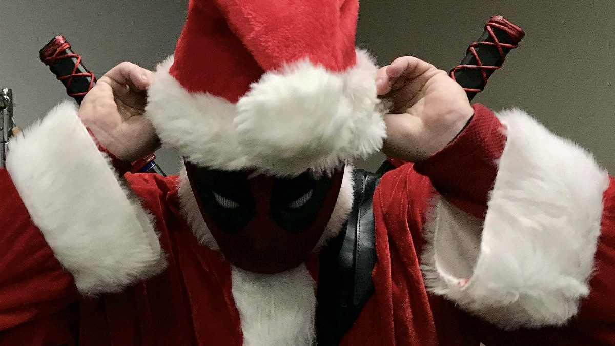 The League of Super Heroes brings holiday joy
