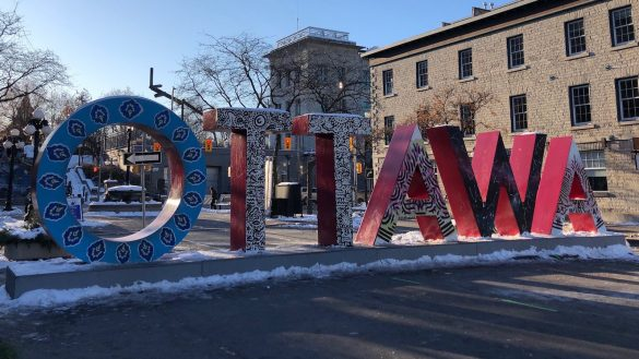 OTTAWA sign in the By-ward market