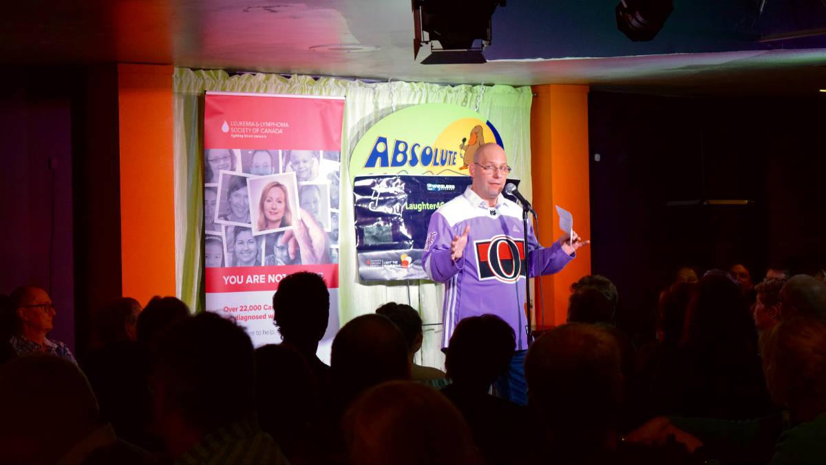 Survivor organizes fundraiser to beat back leukemia with laughter