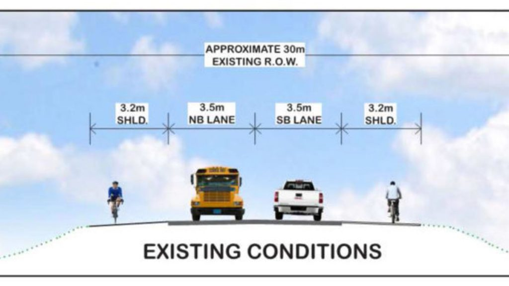 Blair Road's existing traffic conditions.