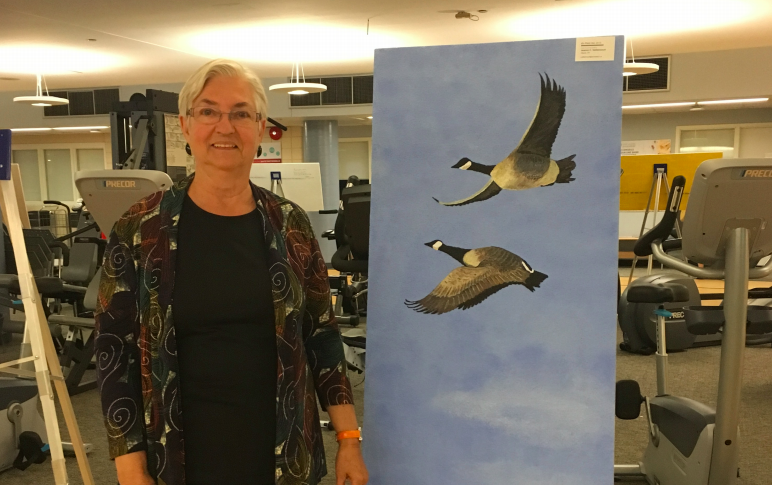The art of healing: Ottawa cardiac patients take heart from ceiling-tile paintings