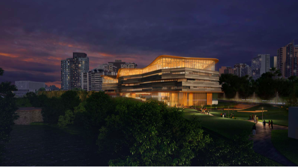 Unveiled design of Ottawa's future central library