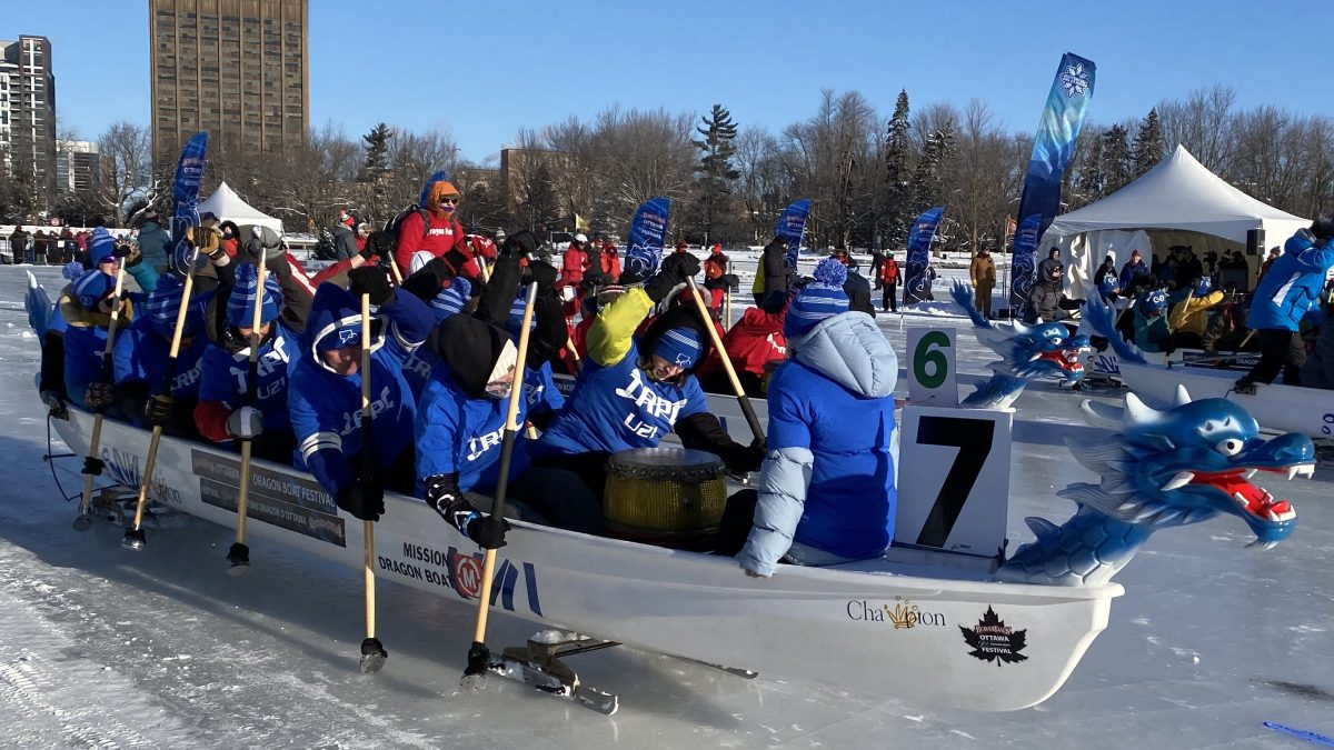 There be Dragons: The weather smiled on the World Ice Dragon Boat Championships in Ottawa