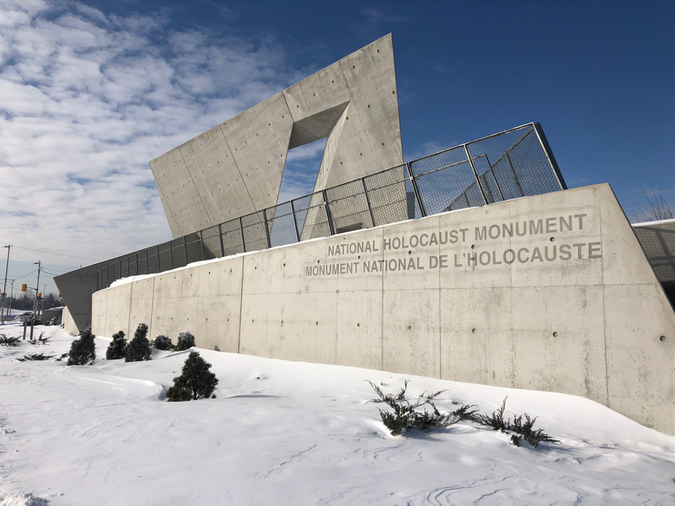 Ottawa Police hate crime unit investigating egging at Holocaust monument