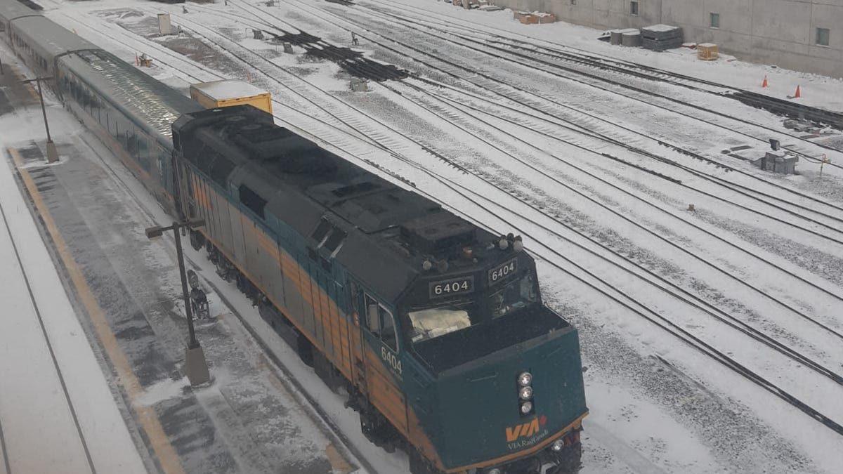 VIA Rail resuming services as Belleville blockade lifted