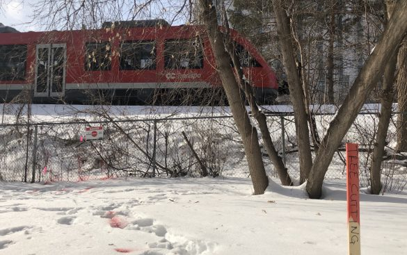 Construction of Stage 2 of the LRT begins on Carleton's campus