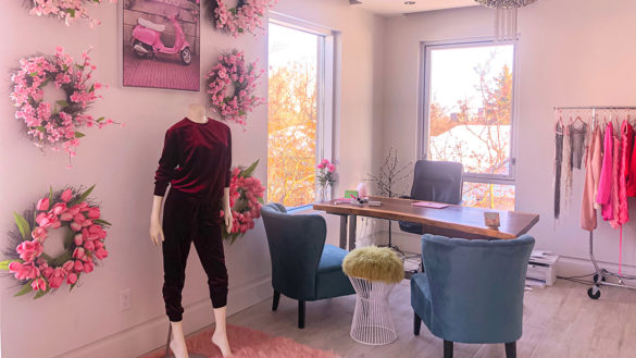 The office for the Rosaii fashion.