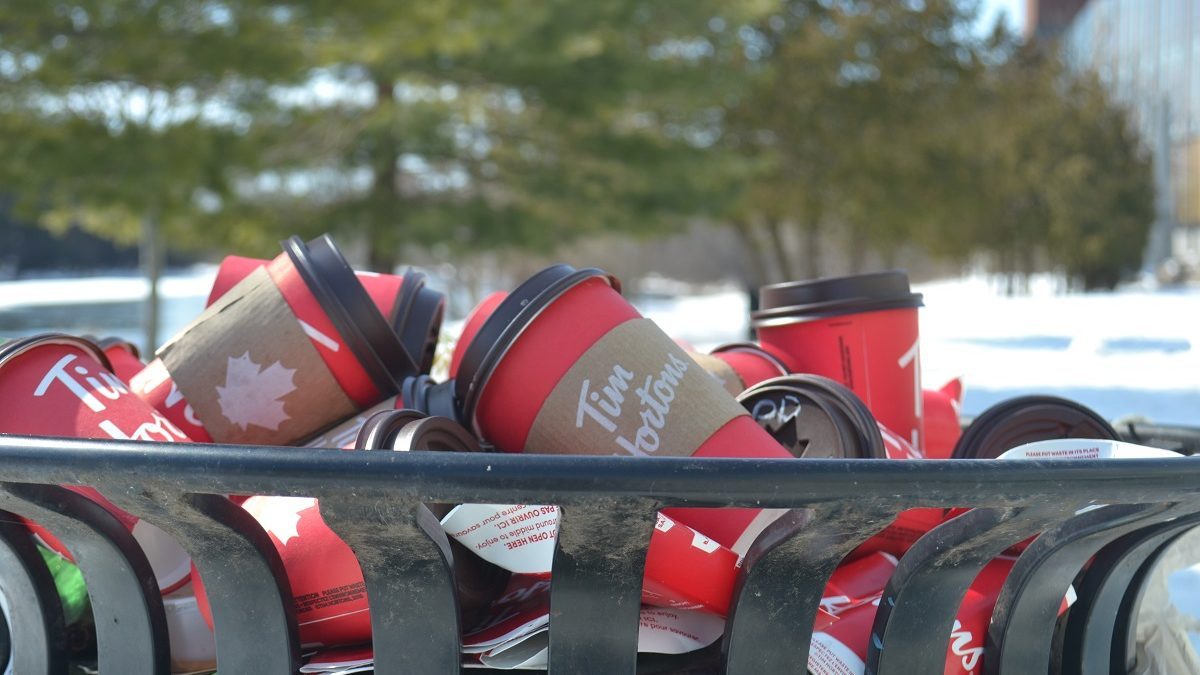 Rolling up the rim cups poses dilemma for popular Tim Hortons contest in a time of COVID-19