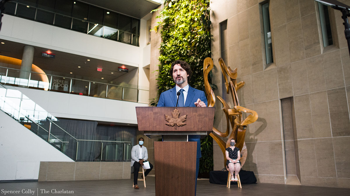 Trudeau delivers virtual message to the graduating class of 2020